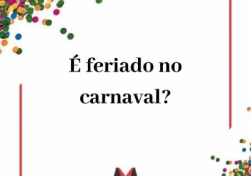 Carnaval e feriado