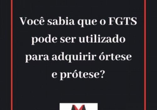 Saque de FGTS para adquirir prótese