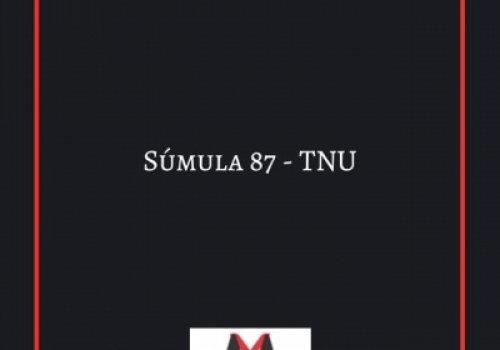 Súmula 87 - TNU