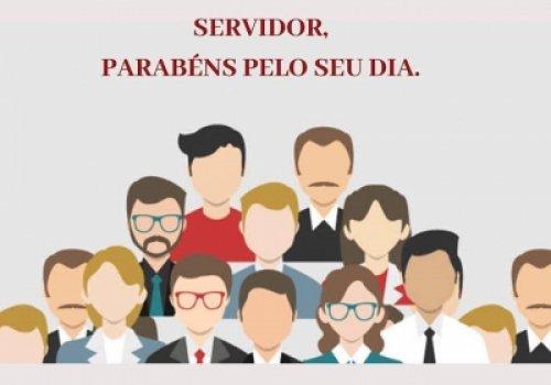Parabéns aos servidores pelo seu dia.